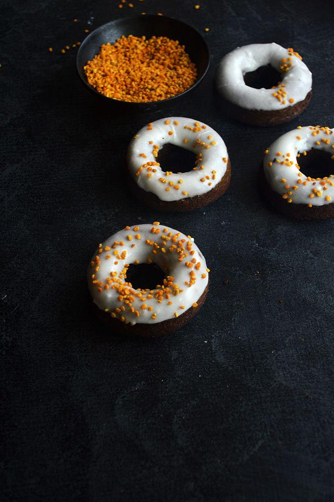 Gingerbread Orange Donuts   Edible Imagination