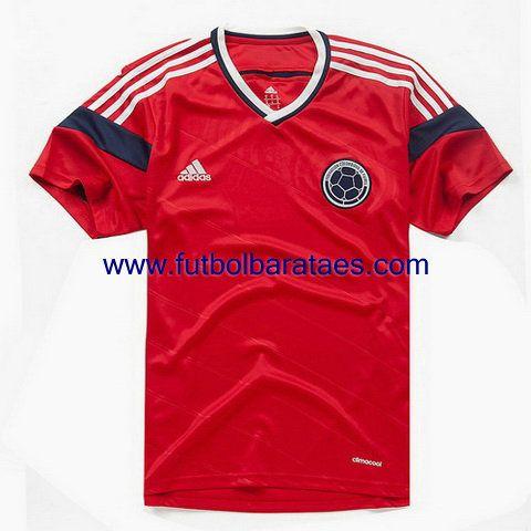 Nueva camiseta de colombia 2nd 2014-2016 baratas