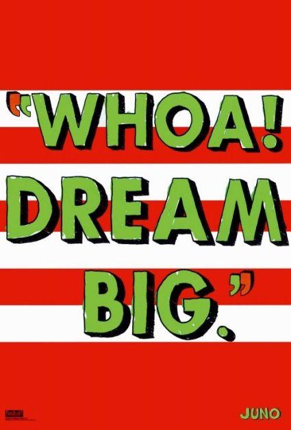 """hahaha favorite quote from Juno! """"Whoa! Dream big!"""" """"Oh go fly a kite!"""" @Emma Zangs Zangs Clinton"""