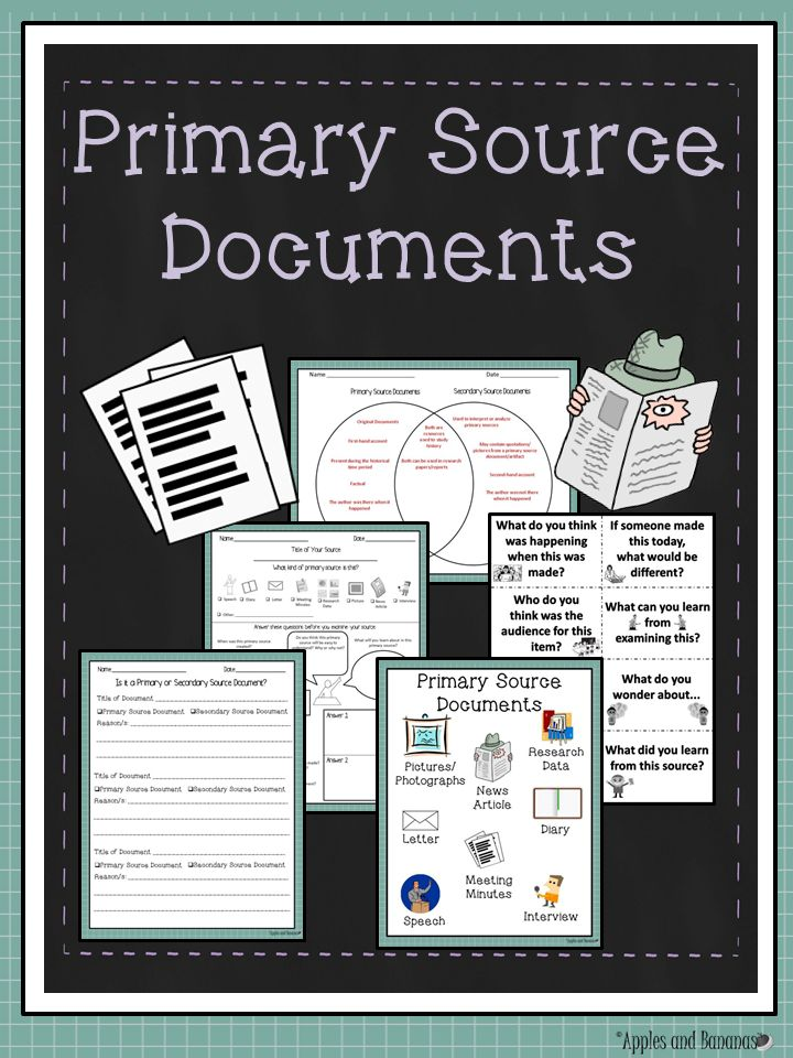 14 best primary vs secondary sources images on pinterest