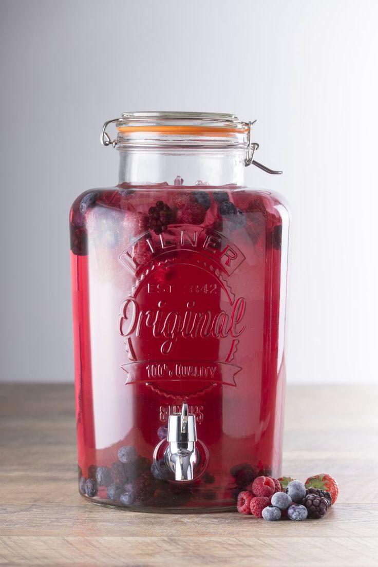 Kilner® Drinks Dispenser Cocktail Recipes – Kilner Jars Blog