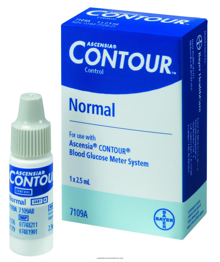 Bayer Ascensia® Contour® Normal Control Solution