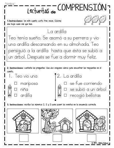 Os dejamos estas fantásticas actividades para trabajar la comprensión lectora de los más pequeños. Este archivo está compuesto de lecturas cortas diferenciadas de comprensión para lectores principiantes. Cada página contiene …