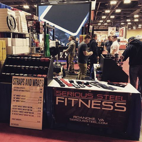 Showing off our new SPR1000 Power Rack & many more products innovations at @arnoldsports! #ASF2017 (@berrysbarbell & @serioussteelfitness) #arnoldclassic #asf #bodysolid #builtforlife #powerrack #powerracks #homegym #homegyms