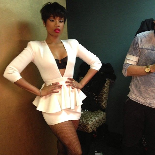 Jennifer Hudson looking fab. I hope she doesn't lose any more weight.