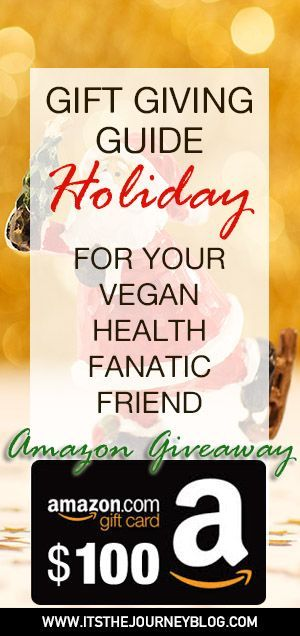 Holiday Gift Ideas for your Vegan Health Fanatic Friends!  Holiday shopping made simple.
