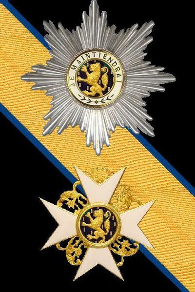 Order of the Gold Lion of the House of Nassau