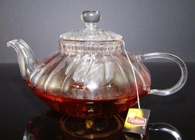 Fake Food Hot Tea Pot