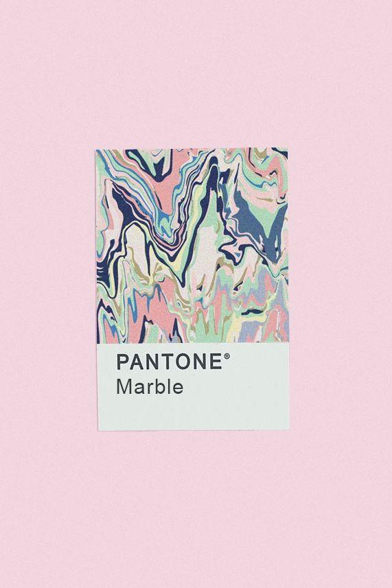 Pantone marble.