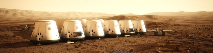 Life on Mars - Mars One Outpost and Rover