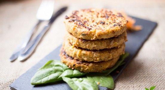 Burger di lupini | lacucinavegetariana.it
