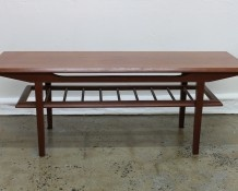 Mid Century Coffee Table 1960s - The Vintage Shop