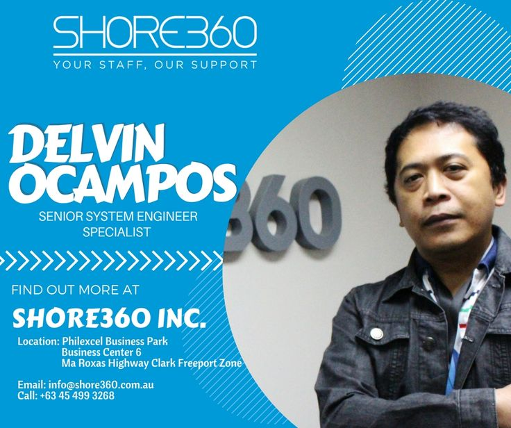 15 best shore360s great team images on pinterest leadership meet meet delvin ocampos i am the senior system engineer specialist of shore360 inc fandeluxe Gallery