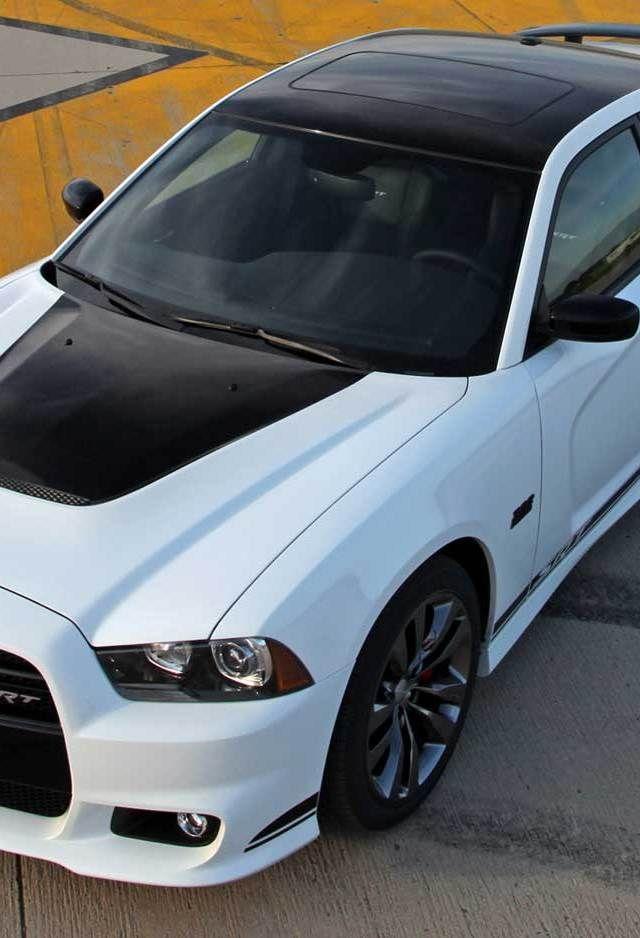 2015 White Dodge Charger SRT Hellcat