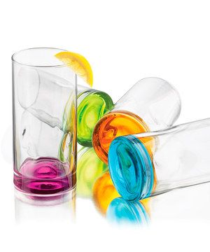 Look at this #zulilyfind! Tropical Cooler Glass Set by Libbey #zulilyfinds