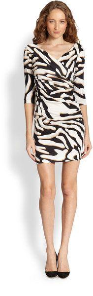 Bentley Zebra-print Dress - Lyst