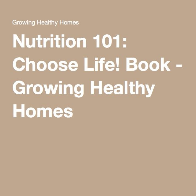 ''FULL'' Nutrition 101 Choose Life Book. others Circuit Buffalo Welcome Hours