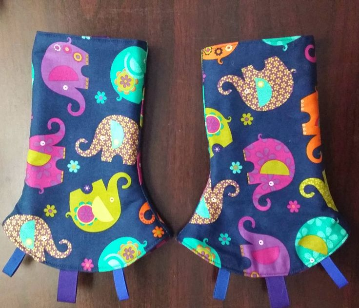 Katie's KPs: Corner Drool Pad Tutorial with taggies, for soft structured carriers.