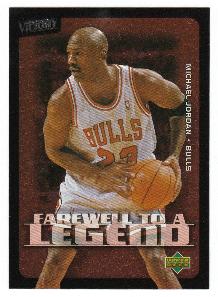 Michael Jordan # 231 - 2003-04 Upper Deck Victory Basketball
