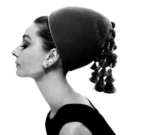 Audrey Hepburn photographed by Cecil Beaton for Vogue, 1964: Hats, Fashion, Cecil Beaton, Style, Audrey Hepburn, Audreyhepburn, Cecilbeaton, Photo