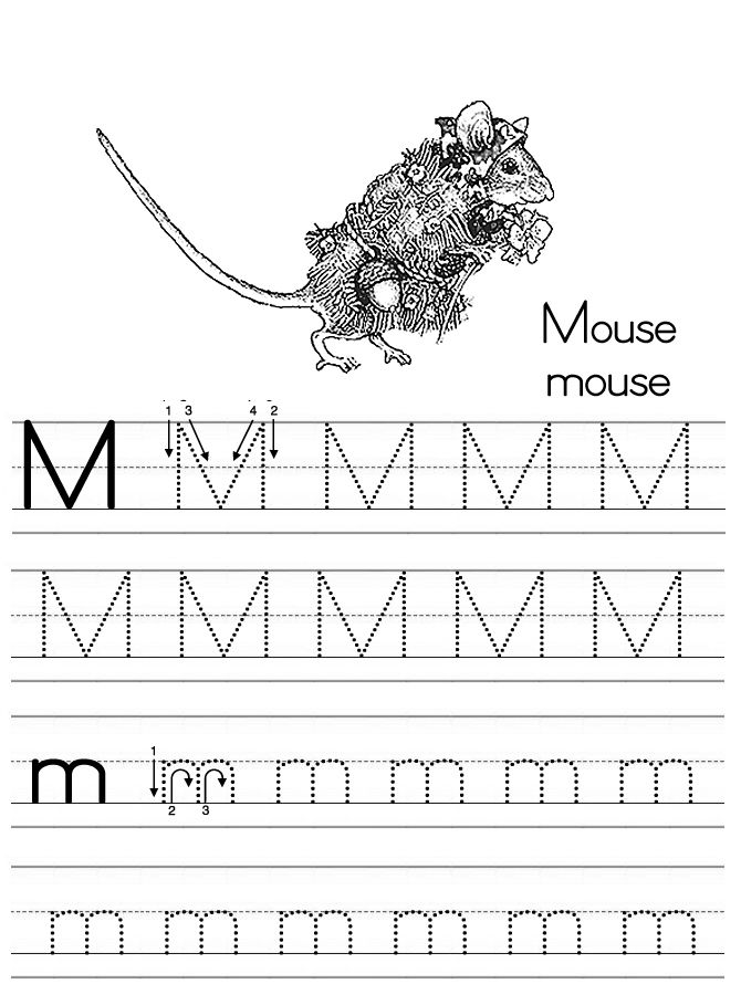 25 best Letter Mm images on Pinterest A mouse, School stuff and - letter of recognition