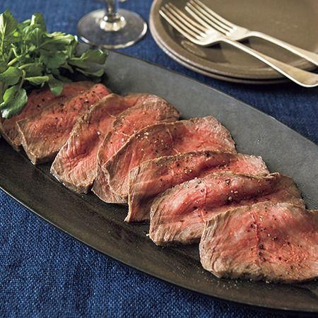 牛肉のハーブ塩釜焼き
