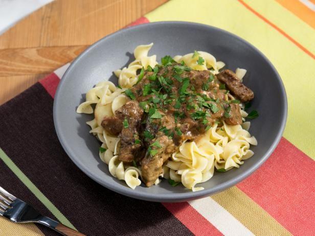 Get Beef Stroganoff Recipe from Food Network