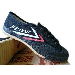 Classic Black Feiyue Kung Fu / Wushu Shoes | Yellow Mountain Martial Arts