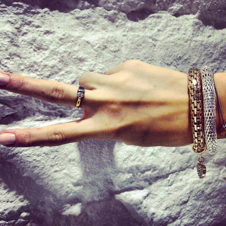 #together #jewellery #treasure #bracelet #snakes
