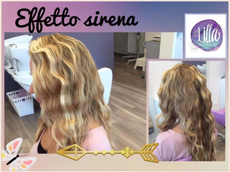 Vacanze finite? Non rinunciare all'effetto sirena! 🐠🌊#effettosirena #capellionde #onde #ondenaturali #capellimossi #parrucchieremilano #capelli #bionda