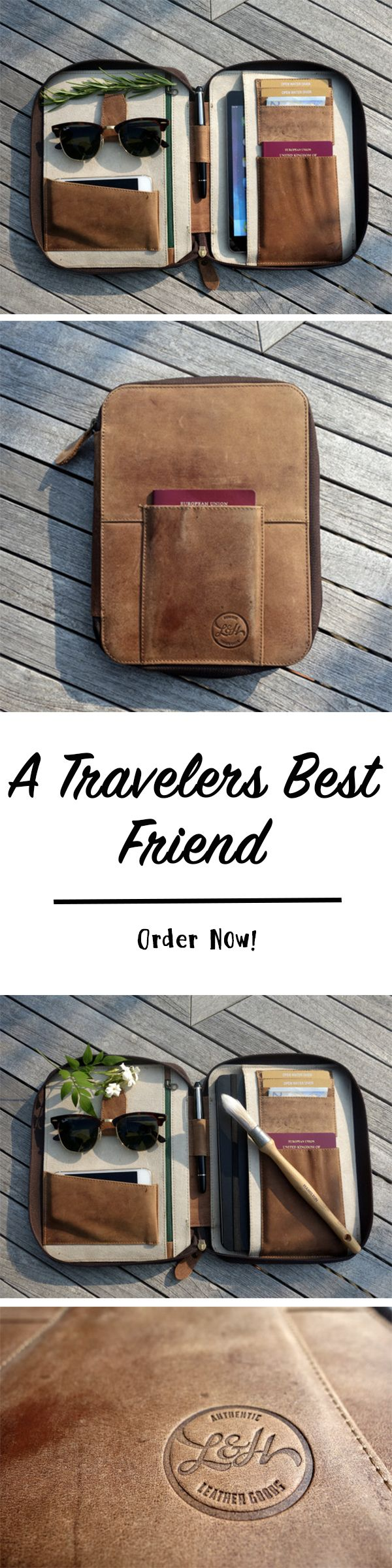 Are you an organized traveler? Well this is the travel case for you!