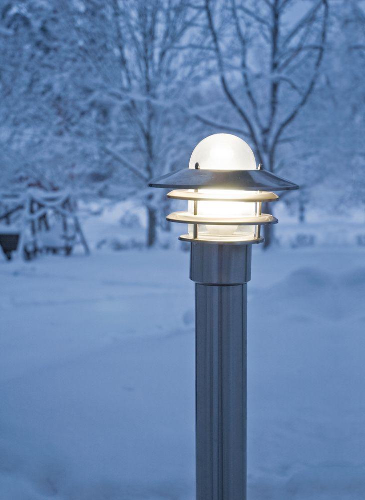 Käpylä mini, outdoor lighting, winter, Finland