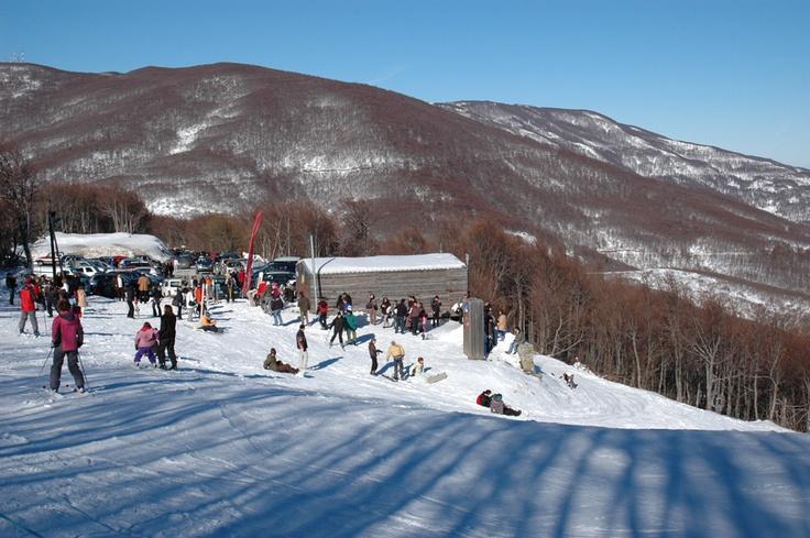 Pelion ski center, Greece