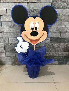 Centro de mesa Mickey mouse por yoyisfoamworld en Etsy