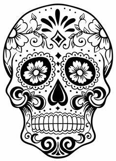 diamond sugar skull design - Google Search