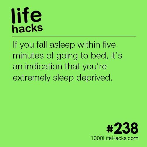 Well does this mean I'm always extremely sleep deprived? Ps this is why school is bad for your health