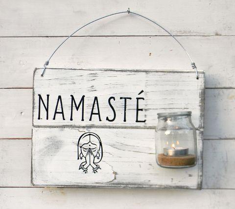 Luminaria con vaso| Namasté