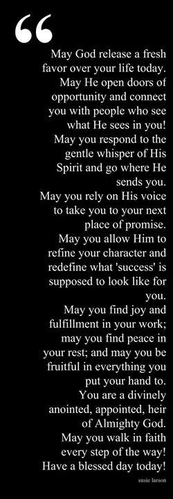 Amen! Thank you sweet Debbie N. and I have just prayed this prayer over myself and for you too. God bless you. Ly