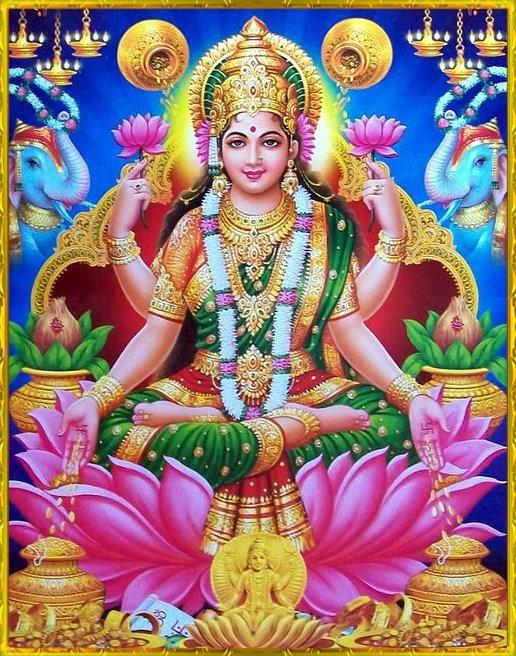 MAHALAKSHMIGLOBAL.COM - The Largest Images Library of Goddess MahaLakshmi in Internet.