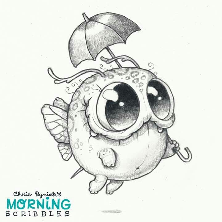 Scribble Monster Drawing : Best coloring for grown ups images on pinterest