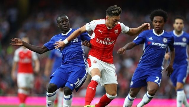 Arsenal cruised to a 3-0 win over Chelsea on Saturday, scoring all three goals in the first half to claim their first Premier League victory over their London rivals in 10 attempts.