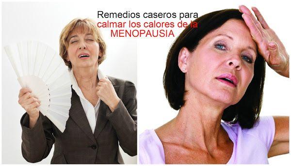 Remedios caseros para disminuir los calores de la menopausia