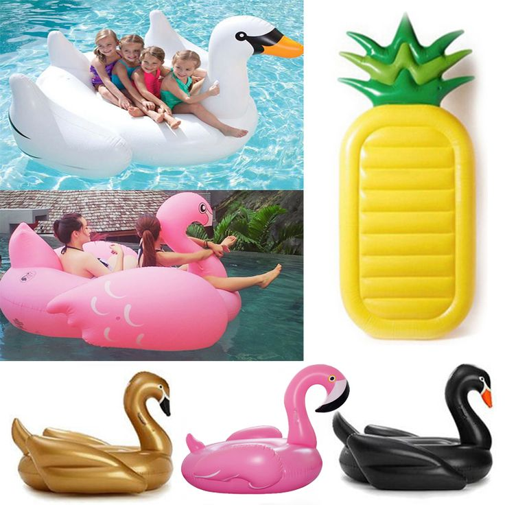 Hot Inflatable flamingo Giant Pool float swimming ring Inflatable Swan swimming pool for adults Water pool toys for summer
