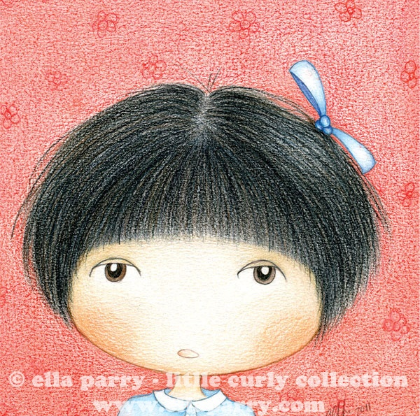 Little Curly's best friend - Mui Mui  ©  ellaparry - little curly collection