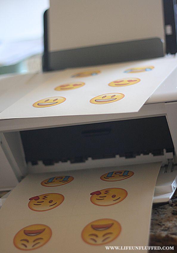 Printable Emoji Matching Game - Unfluffed