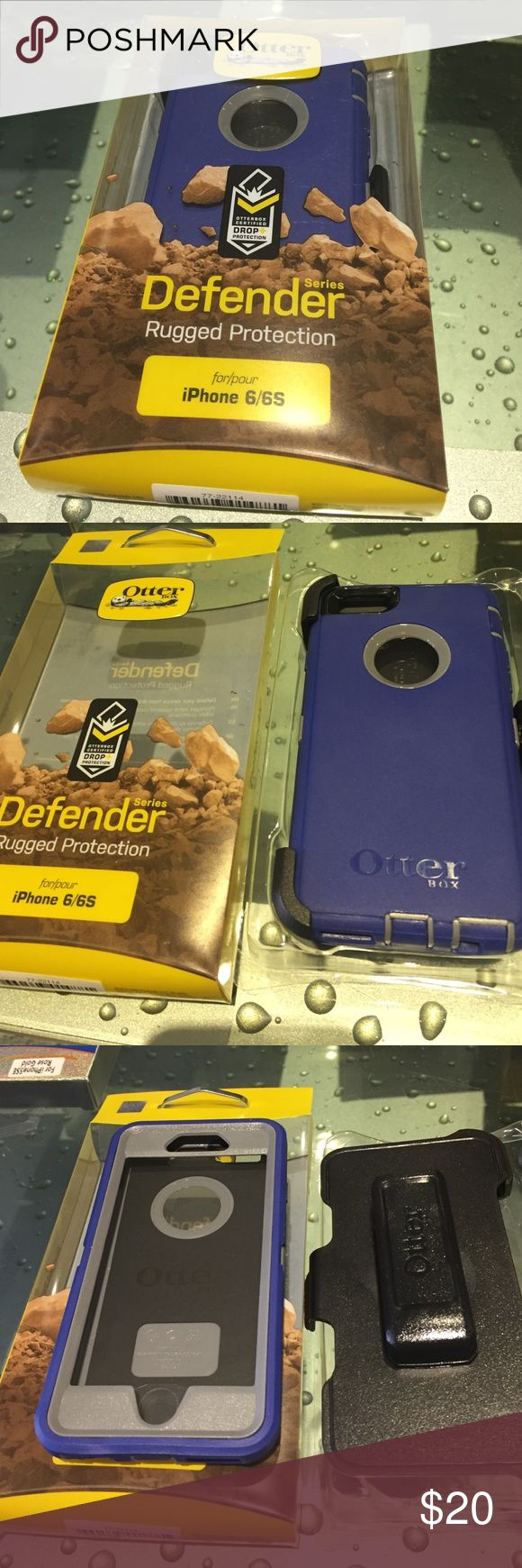 Otterbox defender case for iPhone 6/6s Brand new Otterbox defender case for iPhone 6/6s in retail package OtterBox Accessories Phone Cases
