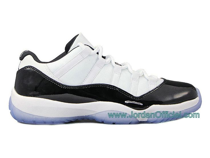 "Air Jordan 11/XI Retro Low ""Concord "" Air JOrdan 11 GS Date de Sortie: 03/05/14 White / Dark Concord - Black , Style - Couleur # 528895-033"