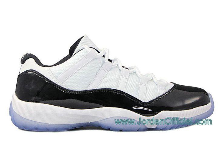 "Air Jordan 11/XI Retro Low ""Concord "" Air JOrdan 11 GS Date de Sortie: 03/05/14 White / Dark Concord - Black , Style - Couleur # 528895-033"