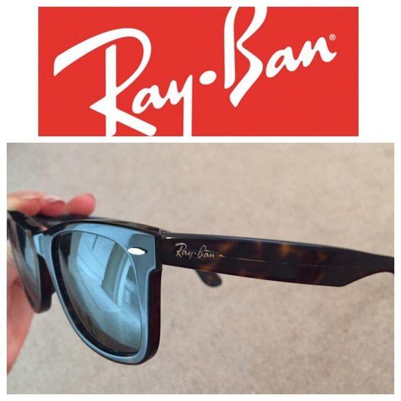 Ray Ban Wayfarer Brown Ray Ban Wayfarer's with minimal use Ray-Ban Accessories Sunglasses