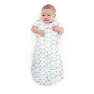Bright Starts - 60460 Sac de dormit Peanut - Norisorii pufosi, 6-9 luni - Comfort&Harmony